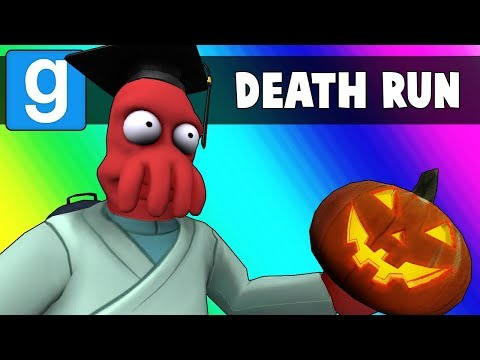 Gmod Death Run Funny Moments - The Haunted High School! (Garry's Mod)