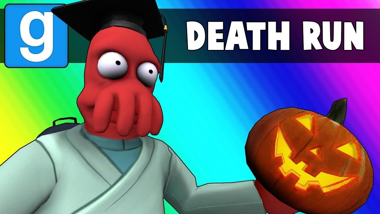 Gmod Death Run Funny Moments - The Haunted High School! (Garry's Mod)