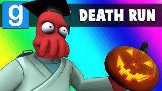 Gmod Death Run Funny Moments - The Haunted High School! (Garry