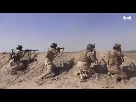 فيديو القوات العراقية تحاصر داعش في الفلوجة