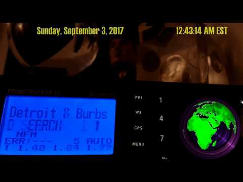 🔴 Live Metro Detroit Police Scanner September 3, 2017 Start: 12:33 AM EST Western Southern Burbs