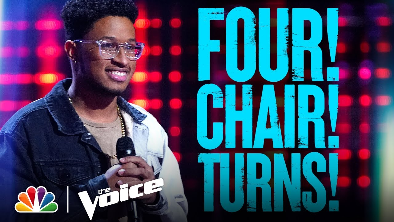 Every Four-Chair Turn from Season 20 - The Voice 2021