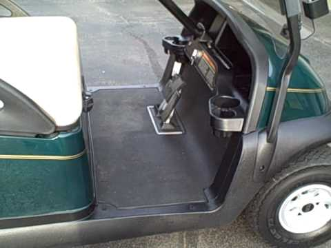 2005 club car 48 volt electric golf cart - precedent model - 2008 batteries  - youtube