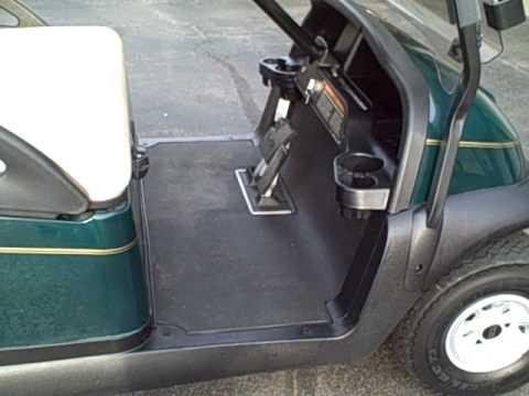 2005 Club Car 48 Volt Electric Golf Cart  Precedent Model  2008 Batteries  YouTube