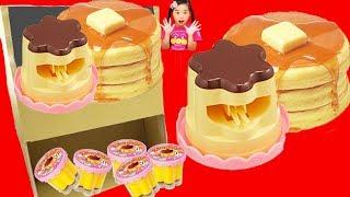 ホットケーキ自販機 メルちゃん おやつプリン