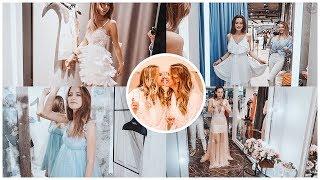 Vlog: Выбираем Саше Второе Свадебное Платье, Жуткий Гром и Визуализация