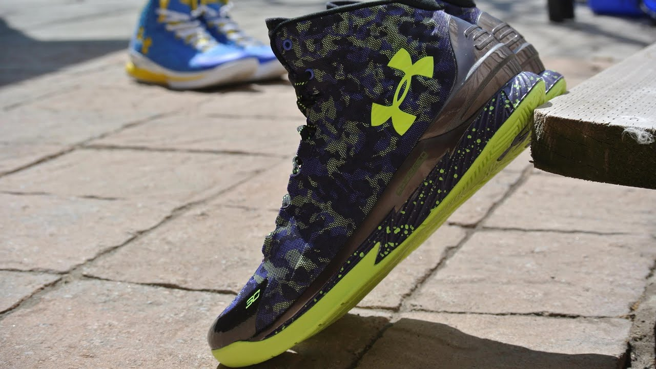 under armour curry one dark matter