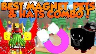 [Roblox] Magnet Simulator: BEST MAGNET, PETS & HATS COMBO! (CRAZY OP UPDATE 8)
