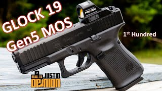 GLOCK 19 Gen5 MOS - 1st Hundred