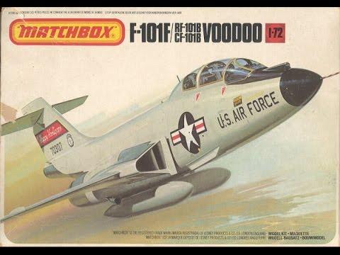 "Matchbox 1/72 RF-101b Voodoo- ""Full Build + Final Reveal"" Video (1.15.17)"