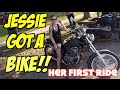 Honda Rebel: A Girl's First Motorcycle, First Ride
