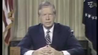 USA President Jimmy Carter's Warning of Consumerism