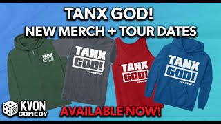 Tanx God! for the new Merch & Tour Dates - http://Kvon.tv/#Shop
