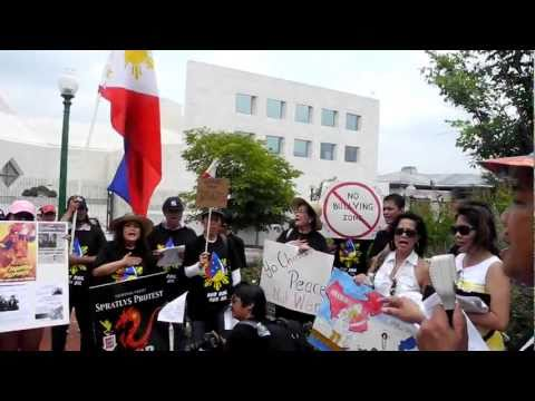 DC Fil-Ams Protest China's bullying