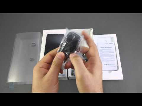 Alcatel One Touch Idol Unboxing