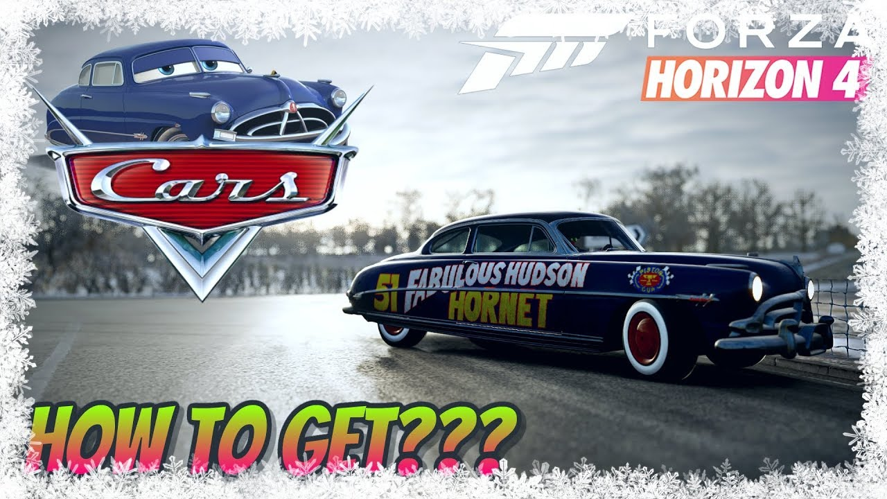 Forza Horizon 4 How To Get The Hudson Hornet Youtube