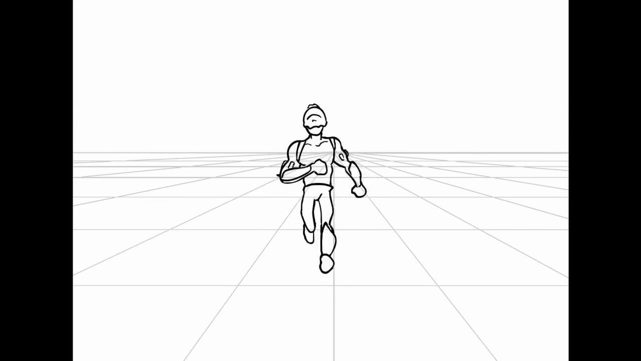 Adobe Flash / Animate Frame by frame fight Animation - YouTube