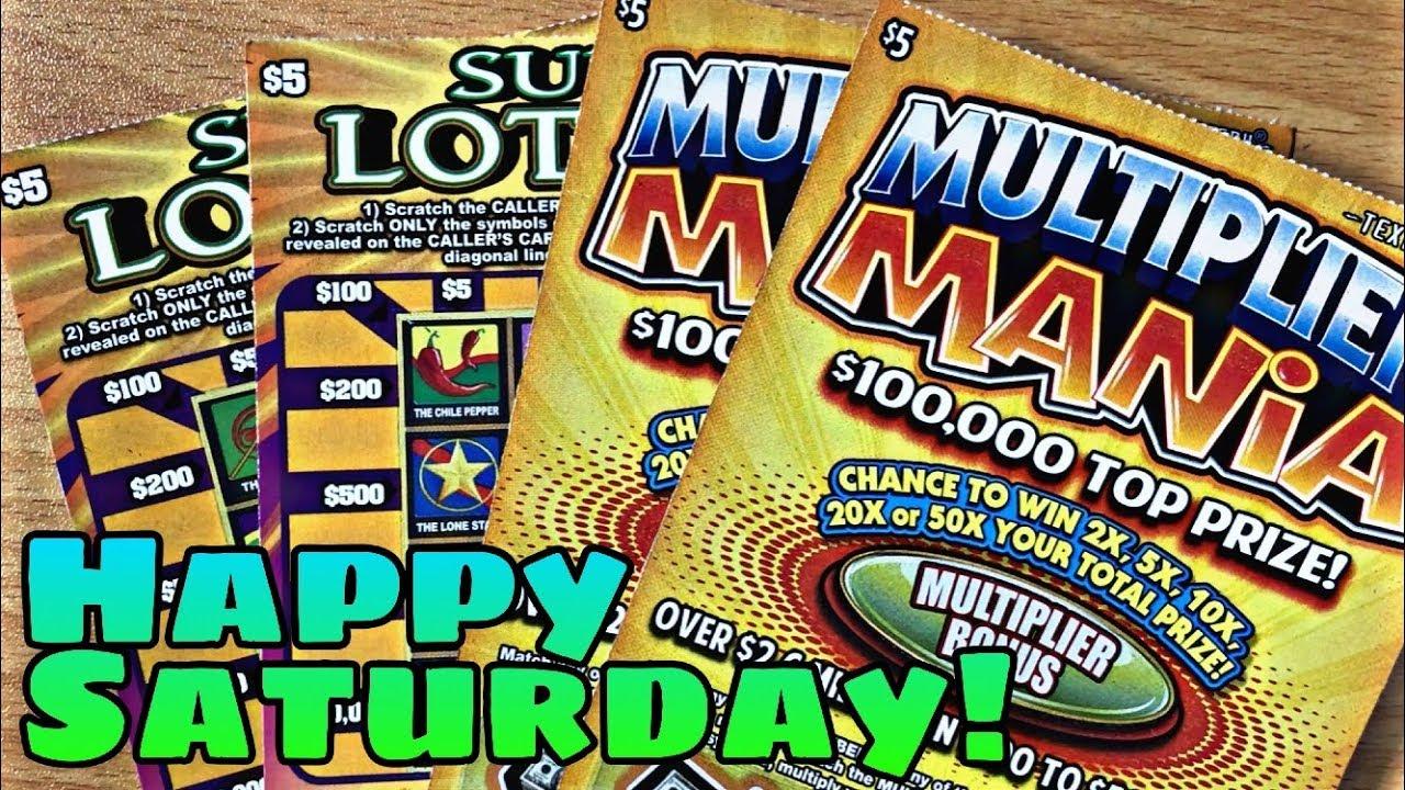 Saturday Lotto Ticket