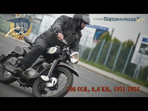 OldtimerbazaR ~ NSU Lux - opowiada Piotr Kawałek