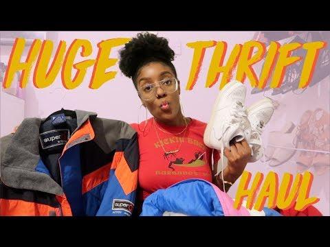 Huge Thrift Haul | TRYON | Birabelle