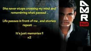 Wahy Zekrayat-Amr Diab ( It's Memories ) English subtitle