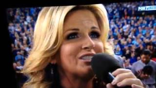 Trisha Yearwood Star-Spangled Banner