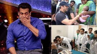 Emotional Salman Khan Breaks Down Revealing Why He HELPS & Donates Money To Poor People- Being Human