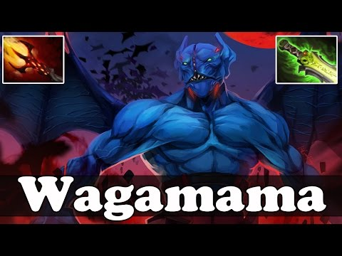 Wagamama 8100 MMR Plays Night Stalker with Dagon and Ethereal blade - Dota 2