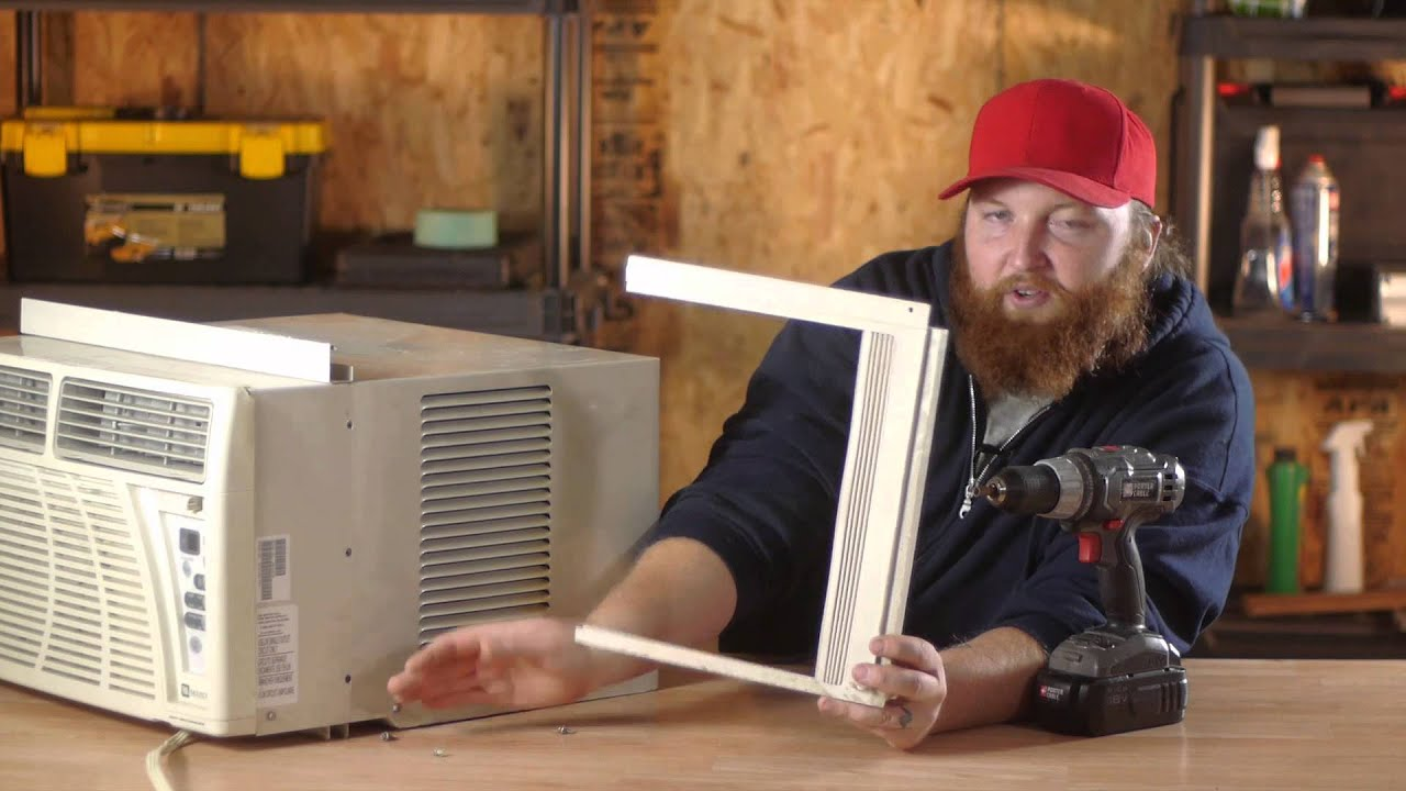 How To Replace The Baffles On A Window Air Conditioner