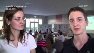 2014-03-28 PAS Schulen Großkorbetha Vorstellung Jugend forscht-Projekte