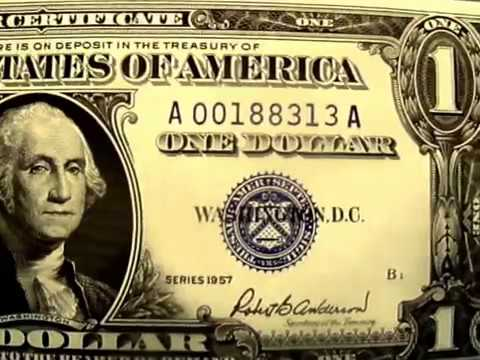 CURRENCY CHAT 101 EPISODE #1 - 1957 ONE DOLLAR SILVER CERTIFICATE ...