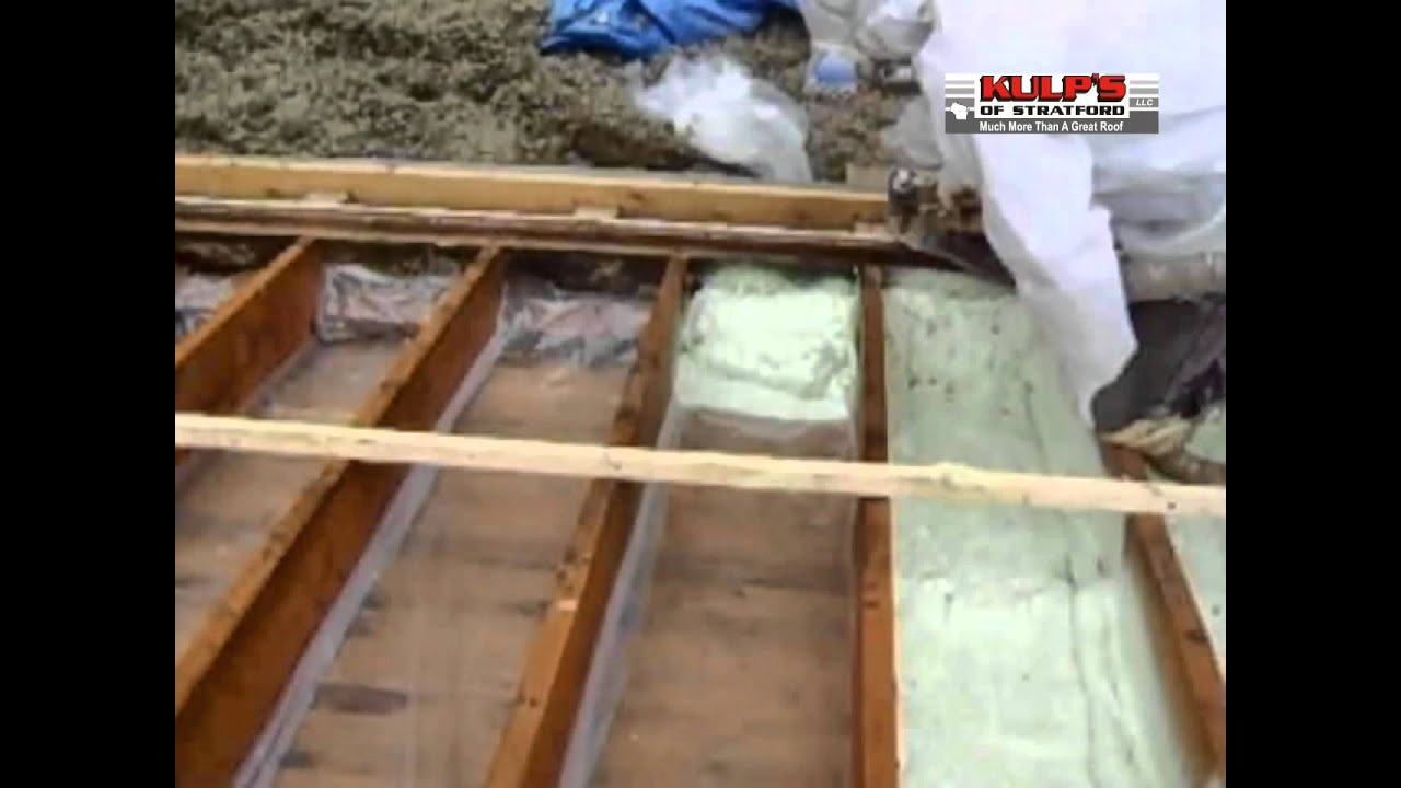Retrofitting a Cathedral Ceiling on KulpTV - YouTube