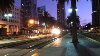 Rail Action At The Santa Fe Depot