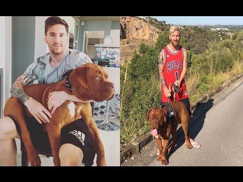 Hulk, el Dogo de Burdeos de Messi