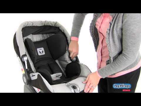2011 Car Seat - Peg Perego Primo Viaggio SIP 30/30 - How To Adjust The Handle And Remove The Hood
