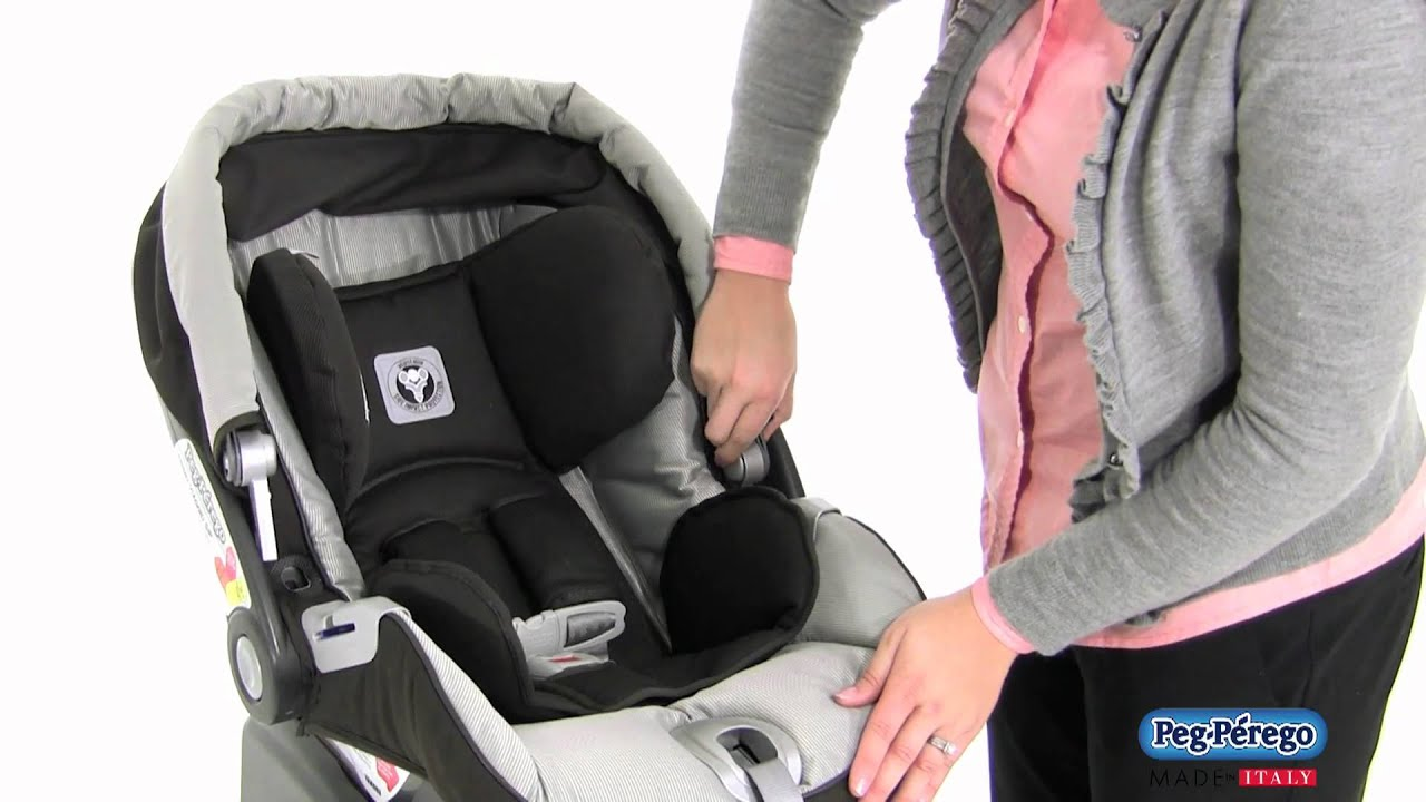 2011 car seat peg perego primo viaggio sip 30 30 how to adjust the handle and remove the. Black Bedroom Furniture Sets. Home Design Ideas