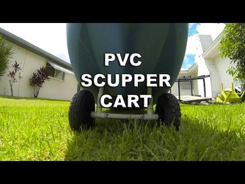 Homemade PVC Kayak Scupper Cart (EASY & CHEAP)!