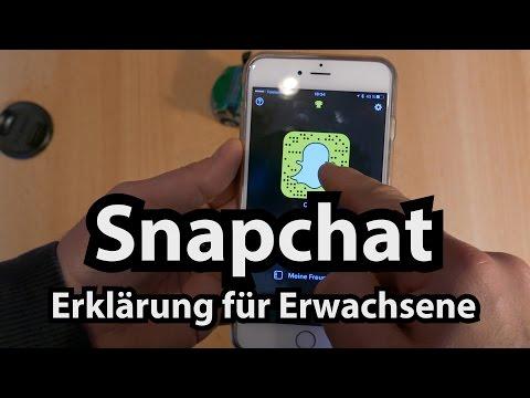 Snapchat: Erklärt Für Erwachsene (Tutorial / Anleitung Von Caulius Auf Deutsch)