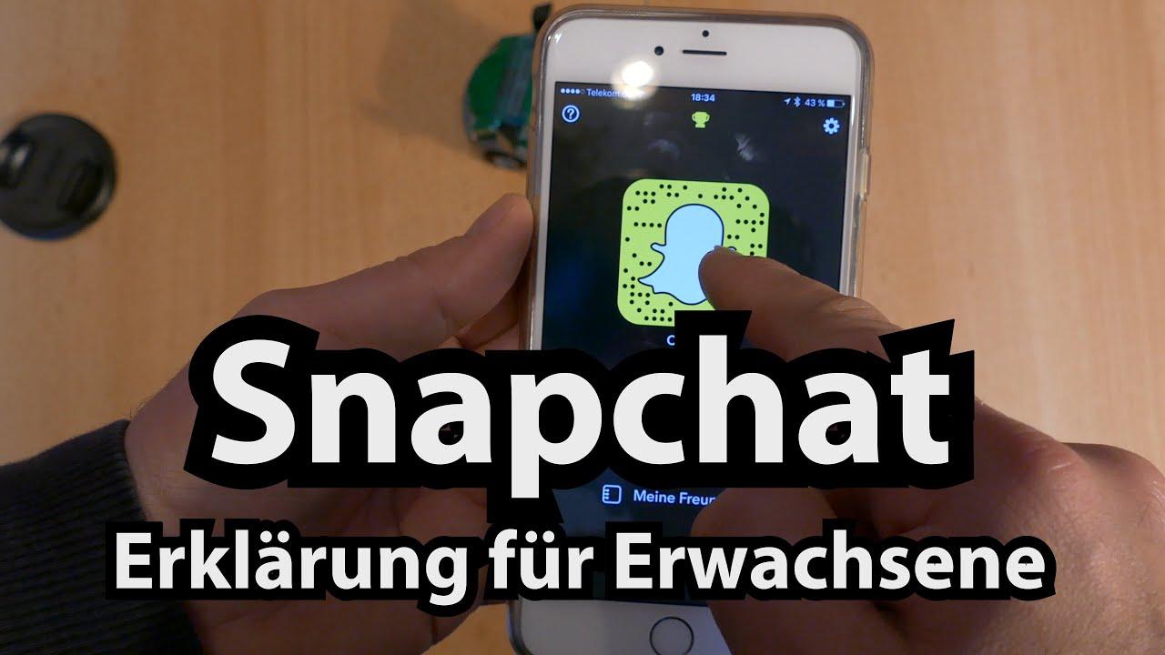 Erwachsene Version von Snapchat