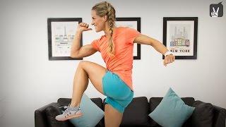 Übungen für Läufer – Starke Beine mit Corinna Frey