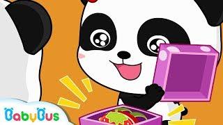 Baby Panda's Surprising Birthday Gift | Kids Birthday Party | Pretend Play | Ice Cream | BabyBus