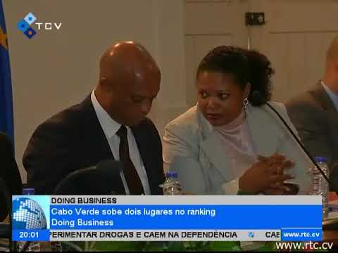 Cabo Verde sobe dois lugares no ranking Doing Business