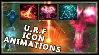 URF Ultra Rapid Fire - Summoner Icon Animations - League of Legends