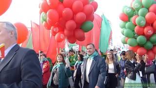 Праздничное шествие в День города 2017