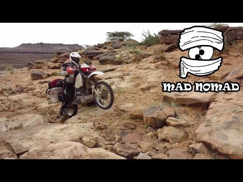 Mauritania motorcycle trip - mad nomad