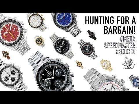 Omega Speedmaster Reduced Bargains - The Best Automatic Chronograph Under $2000 + Breitling Unboxing