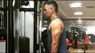 Download Virat Kohli & MS Dhoni UNSEEN GYM Workout Videos 2018