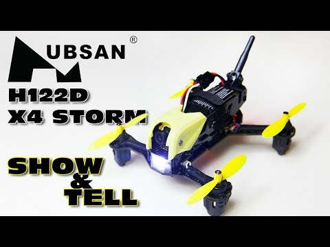 Hubsan H122D X4 Storm :) Great Sightseeing FPV Quad :) - Review P1