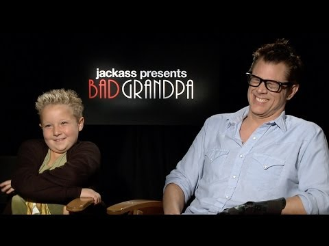 Exclusive  With Bad Grandpa Stars Johnny Knoxville and Jackson Nicoll