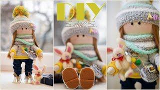 як зробити текстильну ляльку своїми руками
